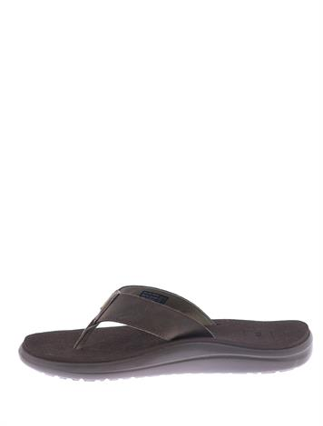 Teva Voya Flip Leather Brown