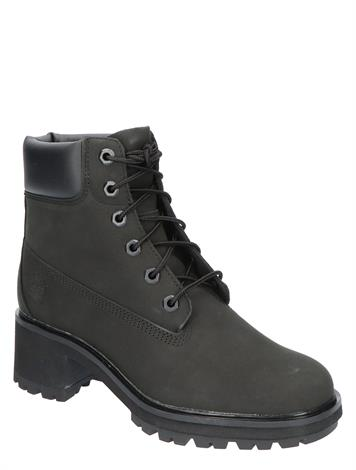 Timberland Kinsley 6 Inch Waterproof Boot Black Nubuck