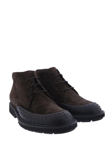 Tod's Ankle Boots in Suede Brown