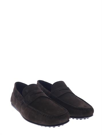 Tod's City Gommino Driving Shoes Brown