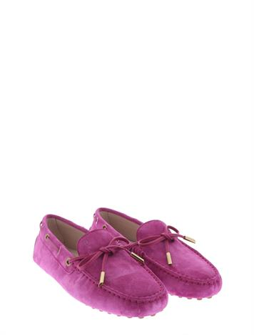 Tod's Gommino Driving Shoes Pink
