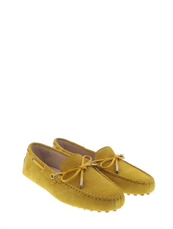 Tod's Gommino Driving Shoes Yellow