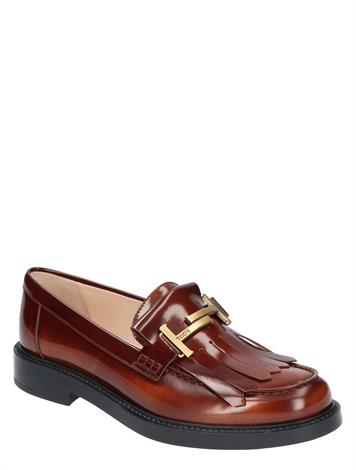 Tod's Loafers in Leather Brown