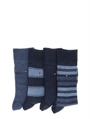 Tommy Hilfiger 4P Stripe Tin Gift Jeans