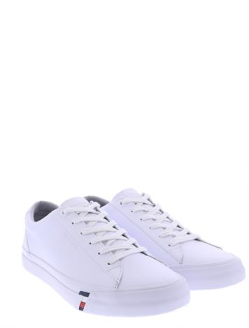 Tommy Hilfiger Corporate Leather Sneaker White