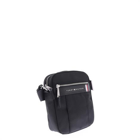 Tommy Hilfiger Elevated Nylon Mini Reporter Black