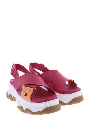 Tommy Hilfiger Hybrid Sandal Blush Red