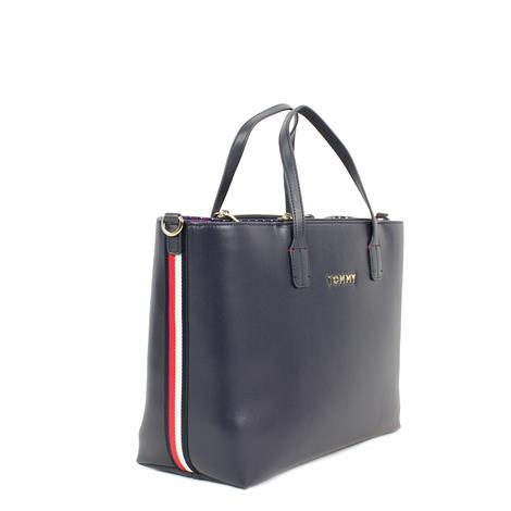 Tommy Hilfiger Iconic Tommy Satchel Sky Captain