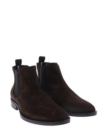 Tommy Hilfiger Signature H. Suede Coffee Bean