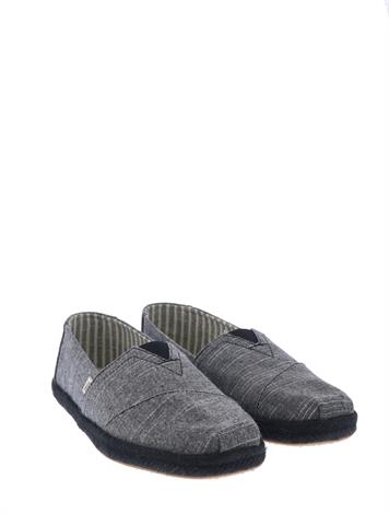 Toms Alpargata Black Rugged
