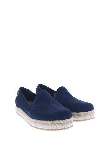 Toms Palma Navy Suede