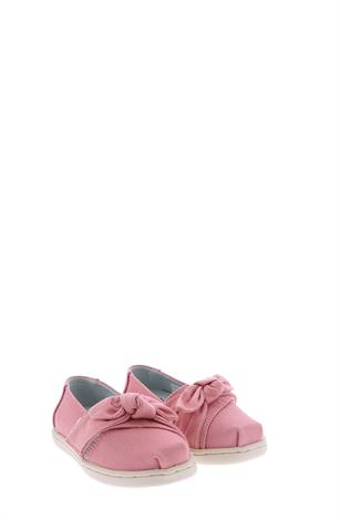 Toms Tiny Classic Vegan Plant Dyed Pink Canvas
