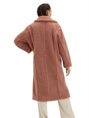 Ugg Gertrude Long Teddy Coat Firewood