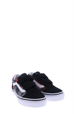 Vans UY Old Skool  Black Racing Red