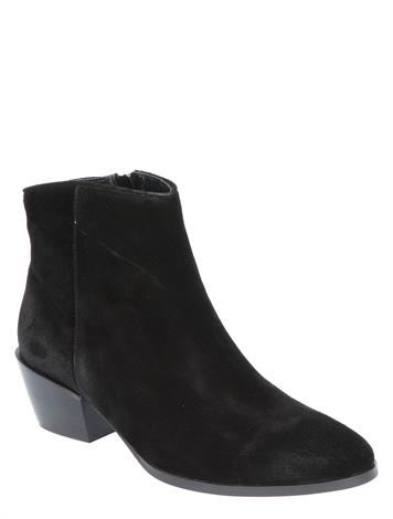 Vivian Ray Lina Black Cow Suede