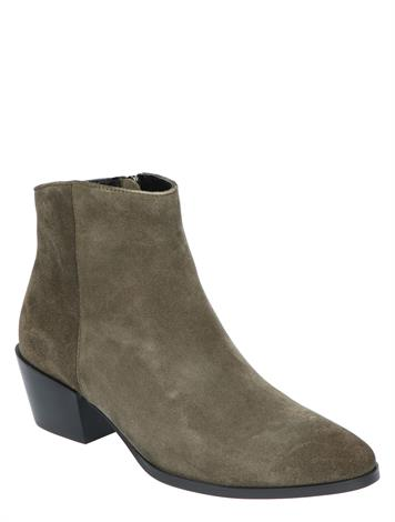 Vivian Ray Lina Green Cow Suede