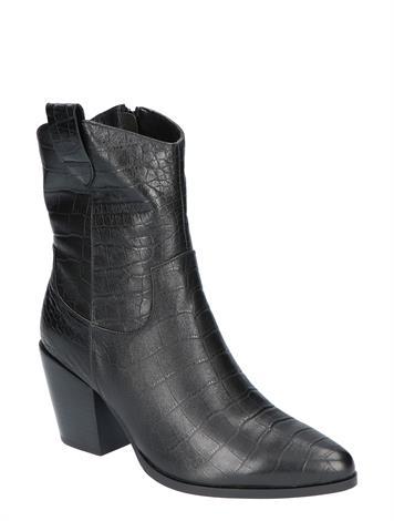 Vivian Ray Linde Black Croco Leather