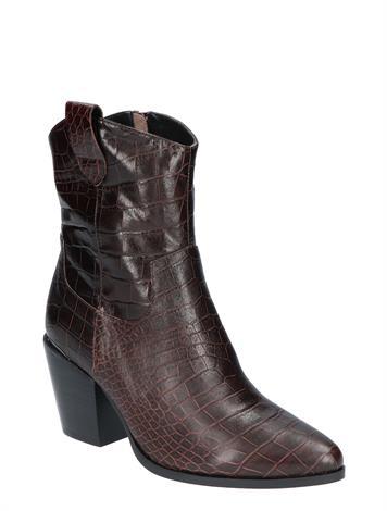 Vivian Ray Linde D.Brown Croco Leather